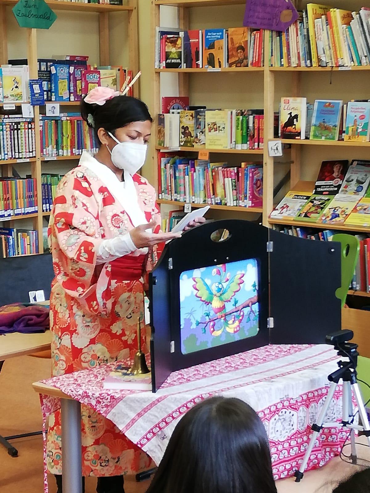 Welttag des Buches in der Bibliothek