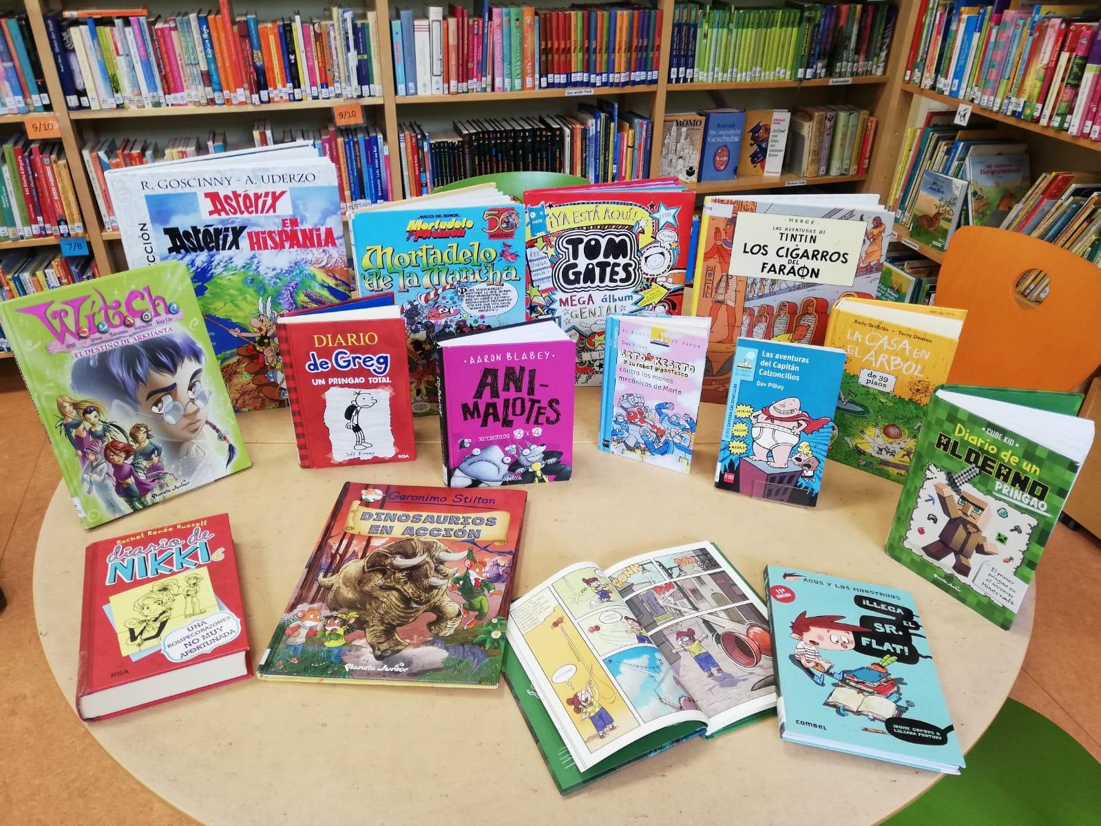 In der Bibliothek: Comic-Empfehlungen