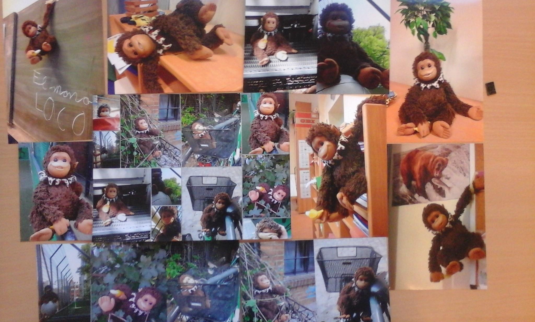 Die Abenteuer des verrückten Affen
